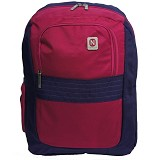 NAVY CLUB Tas Ransel [3265] - Ungu - Notebook Backpack
